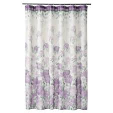 Cloth Shower Curtains Classics Francesca Fabric Shower Curtain