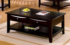 espresso wood coffee table furniture of america cm4265dk c l baldwin espresso wood finish