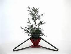 small metal christmas tree items similar to vintage small metal