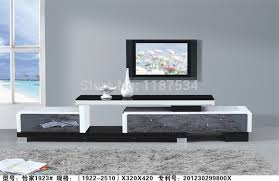 Living Room Tv Table 1923 Living Room Wooden Glass Stretch Tv Stand Modern Furniture