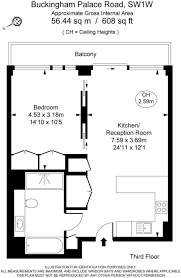 Buckingham Palace Floor Plan 1 Bedroom Apartment To Rent In Nova 79 Buckingham Palace Road