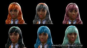 new hairstyles gw2 2015 new hair and accessory colors in total makeover kits guildwars2 com
