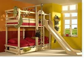 Bunk Bed With Slide Ikea Bunk Beds With Slide Slides Bed Loft Beds With Slide And Tent