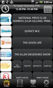 tv guide for android tv guide australia android apps on play