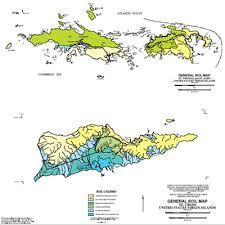 map of us islands and islands usvi representive soil nrcs caribbean area