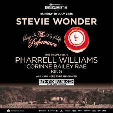 pharrell to join stevie in hyde park on july 10th the
