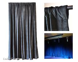 how to correctly hang rod pocket top curtains lushes curtains blog