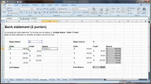 excel accounting format and formulas youtube