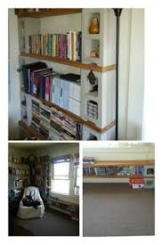 Making Wooden Bookshelves by Book Shelve Made From Six Cinder Block And Two Plank Of Wood