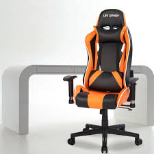 Leather Gaming Chairs Life Carver High Back Racing Sport Gaming Chair Recliner Pu