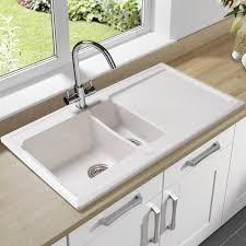 mr direct kitchen sinks reviews porcelain undermount kitchen sink u2014 flapjack design white