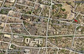 Santa Fe Map 417 E Palace Avenue Santa Fe Nm 87501 Mls 201701448