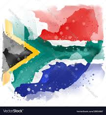 Map Of South Africa by Map Of South Africa Watercolor Paint Royalty Free Vector