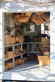 cleaning the basket house the martha stewart blog inside i have many many baskets some i ve purchased at tag sales or from basket weavers a good number of these baskets were used during my catering