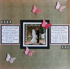 Wedding Scrapbook Page Snap Scrap Blog Tweet The Retweetables Wedding U0026 Anniversary