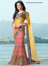 Different Ways Of Draping Dupatta On Lehenga The 25 Best Saree Draping Styles Ideas On Pinterest Saree