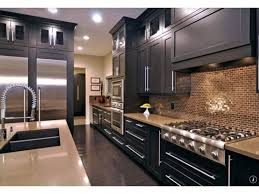 fascinating small galley kitchen design ideas with wall mounted