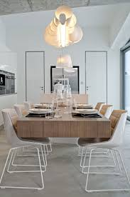 Dining Table Designs 2013 Lighting Dining Table Concrete Interior Design In Osice Czech