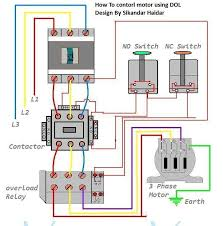 3 phase contactor wiring diagram 3 wiring diagrams collection