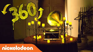 nickelodeon ultimate halloween haunted house 360 challenge