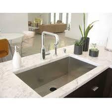 Stainless Steel Undermount Kitchen Sink by 36 Inch Stainless Steel Undermount Single Bowl Kitchen Sink Zero