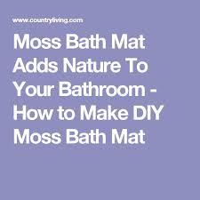 Moss Bath Rug Best 25 Moss Bath Mats Ideas On Pinterest Shower Mats Green