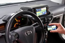 international toyota toyota adopts new car connectivity protocol for in car smartphone