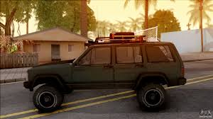 jeep cherokee brown jeep cherokee 1984 off road for gta san andreas