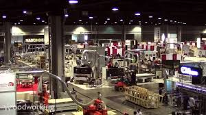 Woodworking Machinery Show Las Vegas by Iwf 2012 Set Up At The Atlanta Woodworking Fair Youtube