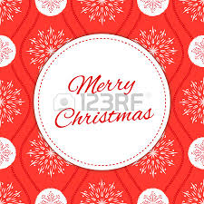 vintage merry christmas card design template vector holiday