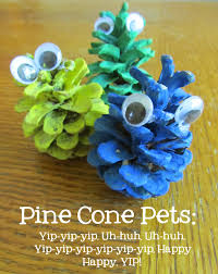 lightbulb books pinecone pets