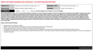 network engineer and amadeus it account manager cover letter u0026 resume