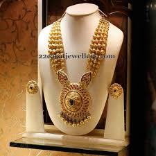 long gold beads necklace images Gold beads necklace jewellery designs jpg