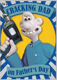 wallace gromit father u0027s card cracking dad amazon