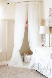 ikea canopy diy whimsical canopy tent or reading nook made from curved curtain