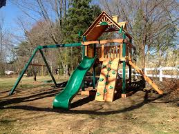 Backyard Swing Set Ideas by Outdoor Remarkable Gorilla Swing Sets For Chic Kids Playground