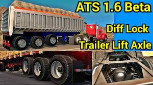 kenworth wiki ats 1 6 beta diff lock u0026 trailer lift axle test kenworth 521