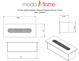 fire pit ethanol fireplace insert ethanol fireplace inserts