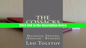 audiobook the cossacks bilingual edition english russian leo