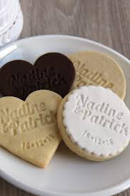personalised cookie stamps wedding bonbonniere wedding favours