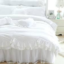 ruffle white duvet covers white ruffle duvet cover queen full twin