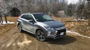 mitsubishi eclipse 2018 mitsubishi eclipse cross canadian first drive review