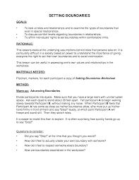 healthy boundaries worksheet setting boundaries worksheet