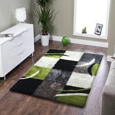 furniture accessories plushy rug area for living room bedroom amore black grey green rectangular fur rug area for bedroom full size