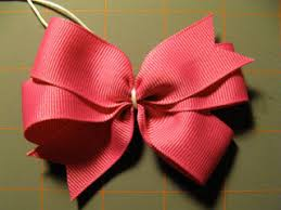 how to make hair bows use a template to make a pinwheel hair bow