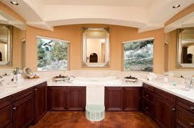 Gorgeous Bathrooms With Dark Cabinets LOTS OF VARIETY Home - Floor to ceiling bathroom vanity
