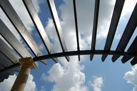 Roofing For Pergola by Options For Transparent Pergola Roofs Hunker