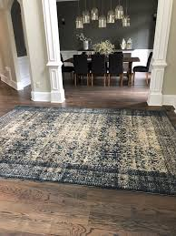 best color of carpet to hide dirt our new foyer rug bower power