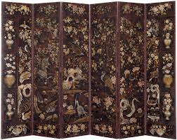 hand painted chinese room divider stars of the screens