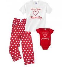 new baby matching pajamas